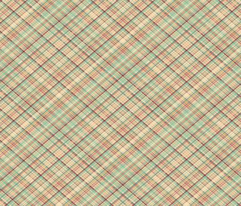 Market Plaid Diagonal - mini fabric by sarah_treu on Spoonflower - custom fabric