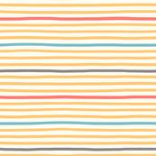 wavy stripes yellow