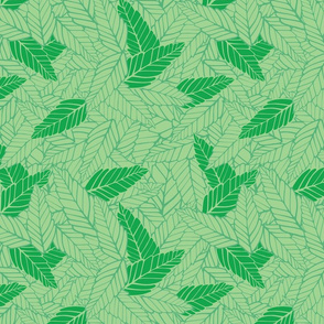 Green Leaves 1