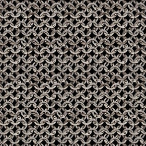 "Riveted Chain mail 5/8""  15.87mm"