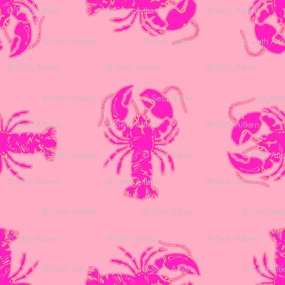 Pink Lemonade  Lobster