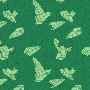 Green Leaves 4