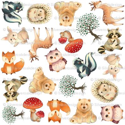 Woodland Animal Pattern