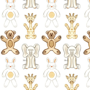 Zoo Animals Pattern