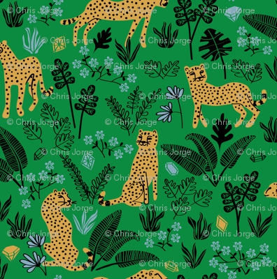 Cheetah Gems