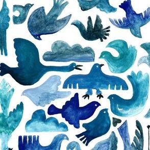 Birds in Sea & Sky