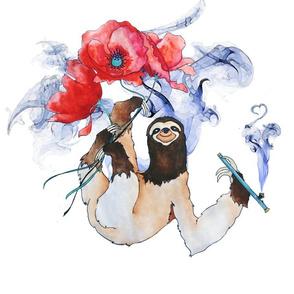 Opium Poppy Sloth