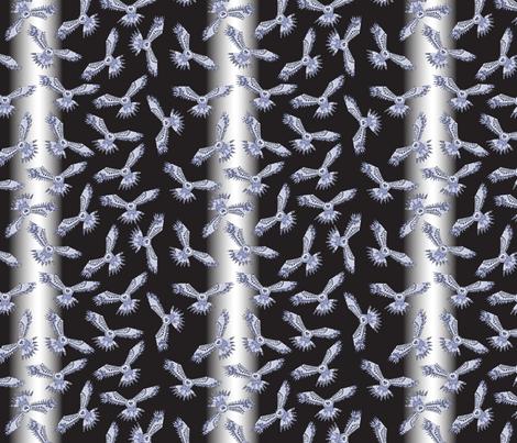 Night Owls fabric by sarahxarts on Spoonflower - custom fabric