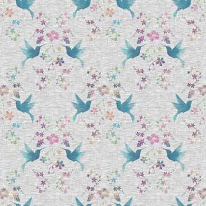 Hibiscus Hummimgbirds