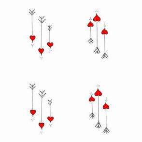 Heart Tip Arrows