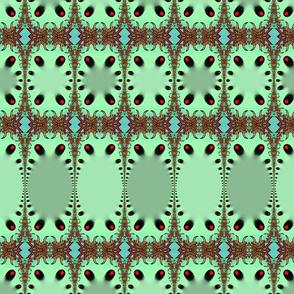 Green Jungle Leopard
