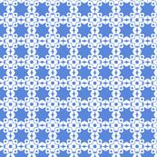 Star Trellis in Racing Blue
