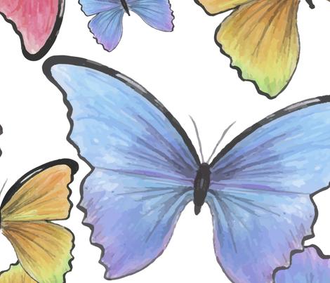 Mariposas fabric by maarsic_c on Spoonflower - custom fabric