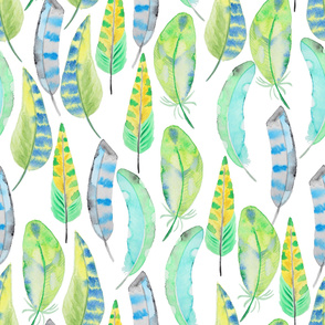 feather water pattern17