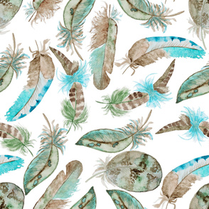 feather water pattern12