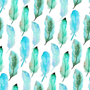 feather water pattern21