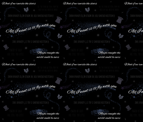 Greatest Showman fabric by thesassymonkey on Spoonflower - custom fabric