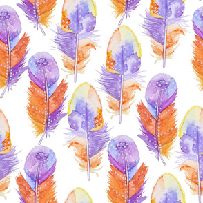 feather water pattern22