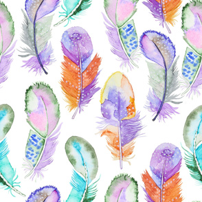 feather water pattern25