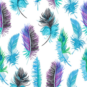 feather water pattern29