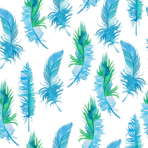 feather water pattern30