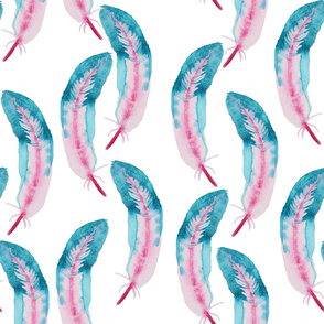 feather water pattern34