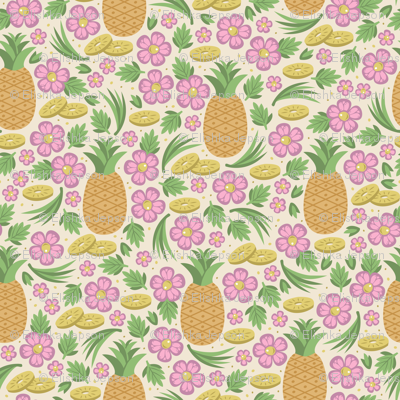 Pineapple Paradise (Light Yellow)