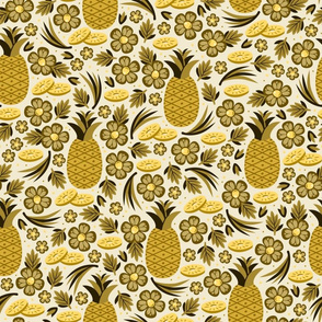 Pineapple Paradise (Gold)