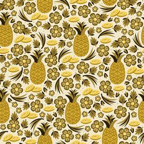Pineapple Paradise (Gold)