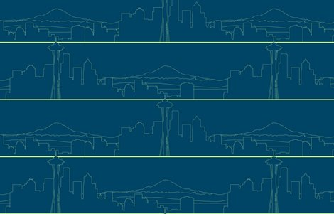 Rseattleskyline--outlines_blue_green_shop_preview