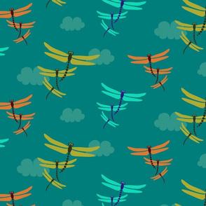 Swarm of Dragonflies