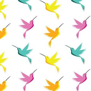 Bright & Busy Hummingbirds