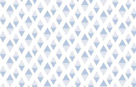 Ostprick blå fabric by by_kia on Spoonflower - custom fabric