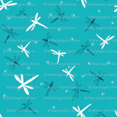 Floating Dargonflies
