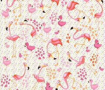 Animals by Air  flamon rose fabric by najet_margi_ on Spoonflower - custom fabric