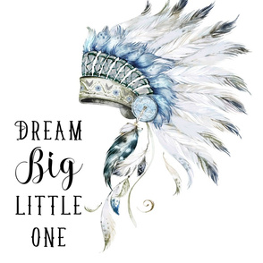 "21""x36"" Dream Big Little One Headdress"