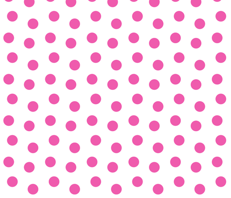 wave polkadots fabric by monique_design on Spoonflower - custom fabric