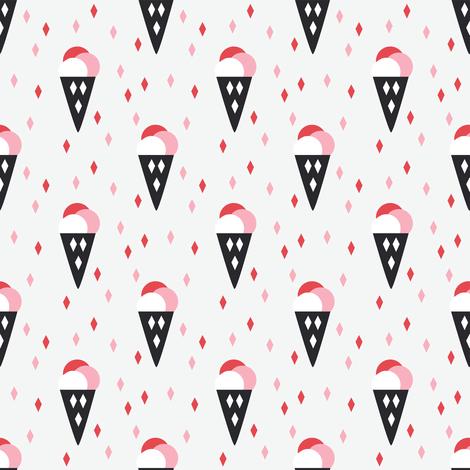 Ice Creams for all fabric by kaicopenhagen on Spoonflower - custom fabric