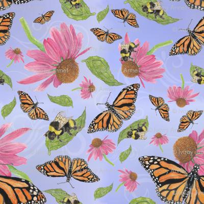 Bumblebees and Butterflies Soar