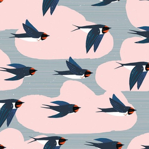 Migration Patterns M+M Smoke by Friztin