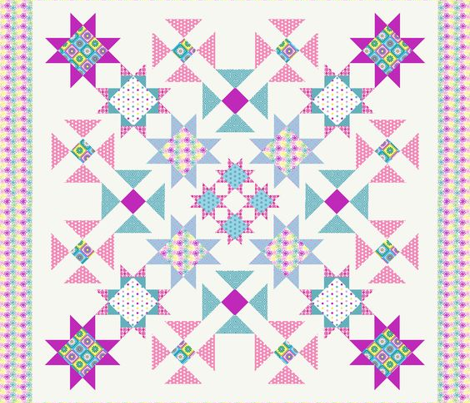 OMS - Oh My Stars Cheater Quilt