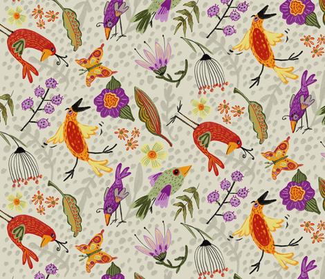 Animals By Air fabric by jennifergeldard on Spoonflower - custom fabric