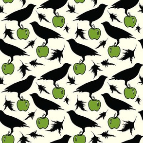 Black Crow on apple