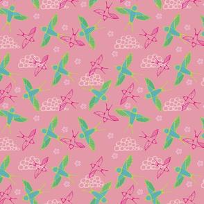 Pink Swallows