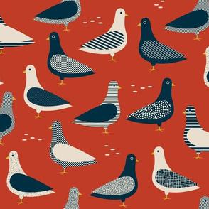 Pigeons - Tomato