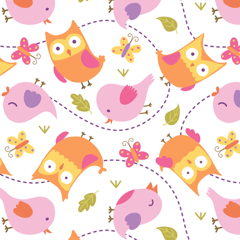 Animals By Air fabric by malibu_creative on Spoonflower - custom fabric