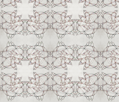 Birds of a Fleather  fabric by bent_line_designs on Spoonflower - custom fabric
