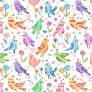 Boho Partridges