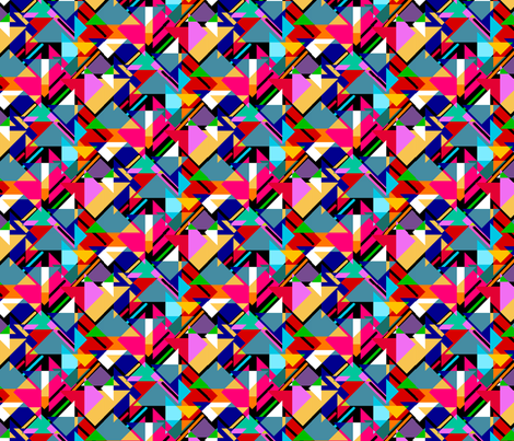 Fab Bauhaus fabric by pla_art_design on Spoonflower - custom fabric