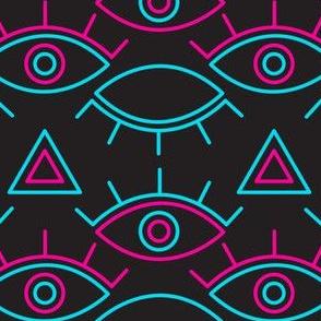 Neon Evil Eye